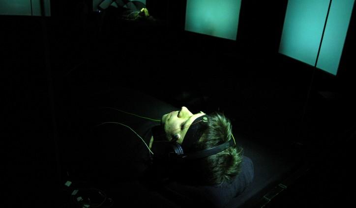 Installation für vernetzte Gehirn-Spieler